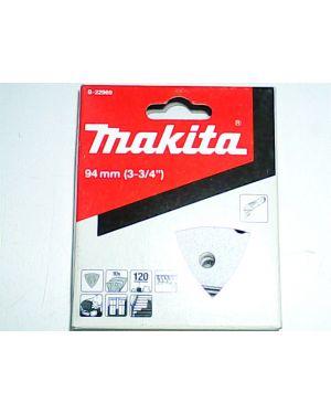 กระดาษทรายขัดสี #120 10Pcs B-22969 Makita