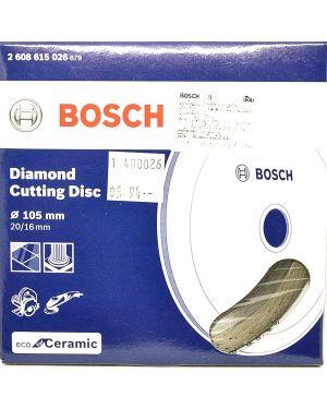 """ใบเพชรตัดกระเบื้อง ตัดน้ำ Eco 4"""" #026 Bosch"""
