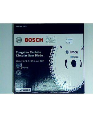 """ใบเลื่อยวงเดือน ตัดไม้ Eco 7 1/4"""" 60T Bosch"""