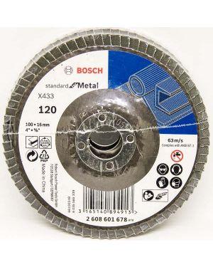 """ทรายซ้อนหลังแข็ง P120 4"""" Bosch"""