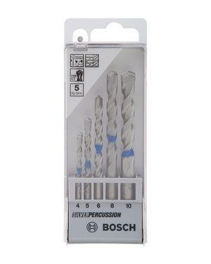 ดอกเจาะปูน Silver ชุด 4,5,6,8,10mm #726 Bosch