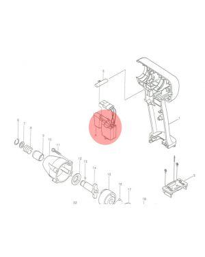 Switch C3LA-1A-SS BTD060(42) 650532-3 Makita