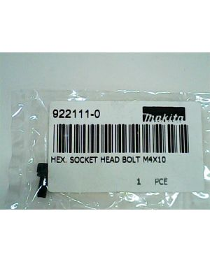 Socket Head Bolt Hex M4x10 4300BA(36) 922111-0 Makita