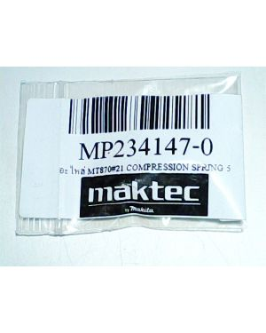Compression Spring 5 MT870(21) 234147-0 Makita