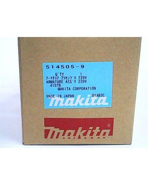 ทุ่นไฟฟ้า 4107R 4107B 514505-9 Makita