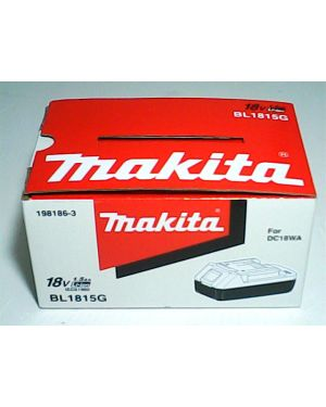 Battery G-Type BL1815G DF457 HP457DWE 198186-3 Makita