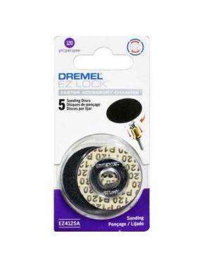 """กระดาษทราย EZ Lock 1.25"""" #120 412SA Dremel"""