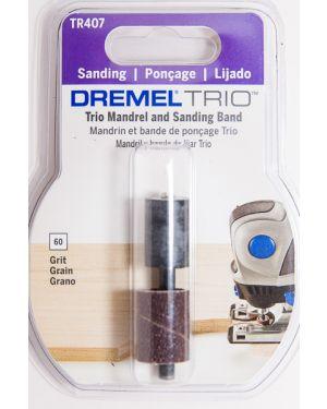 """ปลอกขัดกระดาษทรายพร้อมแกน 1/2"""" #60 TR407 Dremel"""
