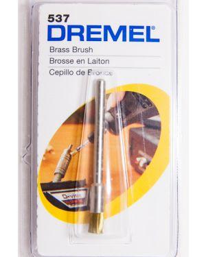 แปรงขัดทองเหลือง 3.2mm 537 Dremel