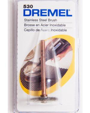 แปรงขัดสเตนเลส 19.0mm 530 Dremel