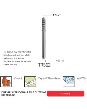 ดอกตัดกระเบื้อง TR562 Dremel