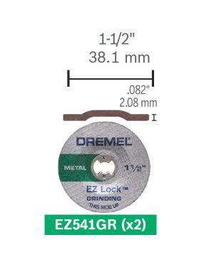 ใบเจียร์ AL Oxide EZ Lock E541 CN Dremel