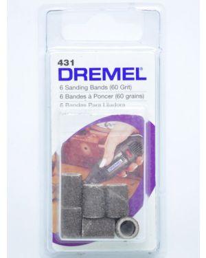 """ปลอกกระดาษทราย 1/4"""" #60 431 Dremel"""