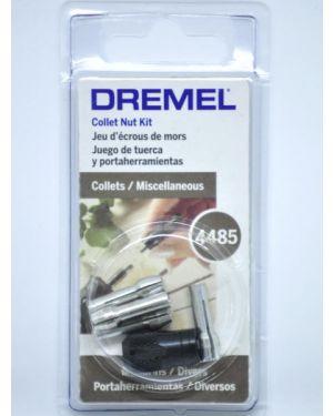 ชุดปากจับ 4 ขนาดบวกตัวล็อคหัว 4485 Dremel