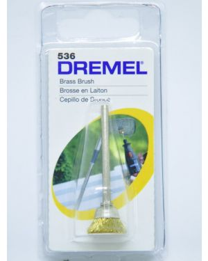 แปรงถ้วยทองเหลือง 536 Dremel