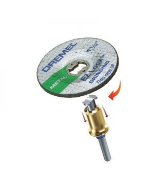 ใบเจียร์ AL Oxide EZ Lock E541 Dremel