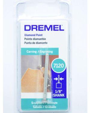 """ดอกแกะสลักเพชร 17/64"""" (7120AC) Dremel"""