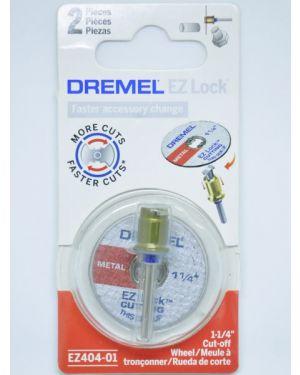 ชุดใบตัดพร้อมแกนต่อ EZ Lock 404 Dremel