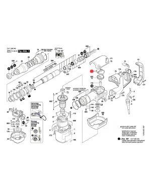 ฝาครอบเฟือง GSH388 1617000422 Bosch