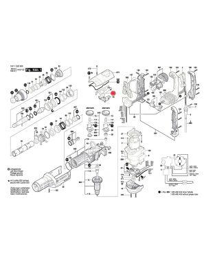 ตัวควบคุม GBH8-45D GSH9VC 1617000A31 Bosch