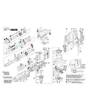 ลูกกระทุ้ง GBH8-45D 1617000A33 Bosch