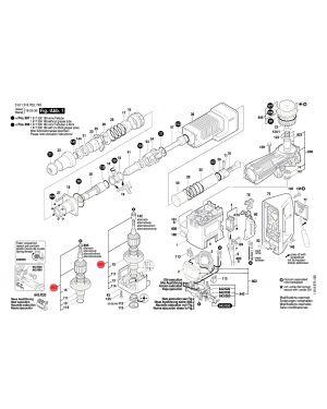 ทุ่น GSH11E 1614011072 Bosch