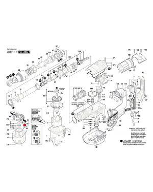 แปรงถ่าน GSH388 GBH5-40D 1617014138 Bosch