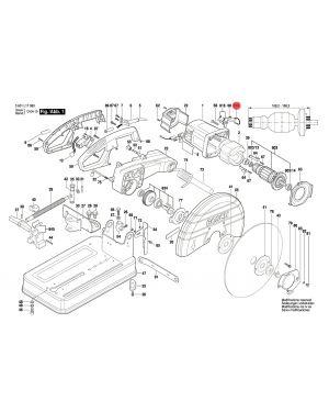 แปรงถ่าน GCO2000 GCM10M 1607014171 Bosch