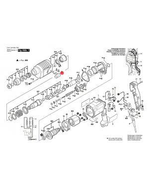 ตัวปรับสวิทซ์ GBH2-20 1612026023 Bosch