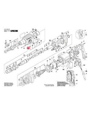 ปุ่มสวิทซ์ 1612026097 Bosch