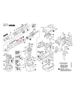 แหวนรอง GBH5-38D 1610102056 Bosch