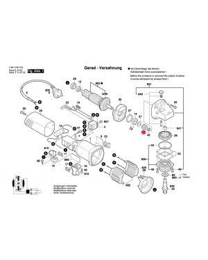 เกียร์ GWS5-100 2609110149 Bosch