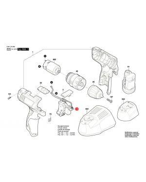 สวิทซ์ GSR1080-2 GSB1080-2 2609125169 Bosch