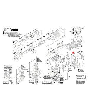 มือจับ GSH11E 1615132082 Bosch
