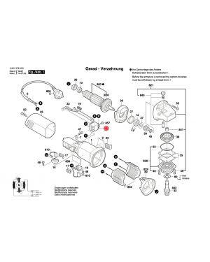 สวิทซ์ปิด-เปิด GWS5-100 1607200179 Bosch