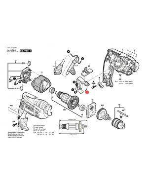 สวิทซ์ GBM350RE GBM10RE 2607200623 Bosch