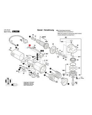 ตัวปรับ GWS5-100 1602319009 Bosch