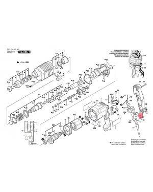 Capacitor 1617328025 Bosch
