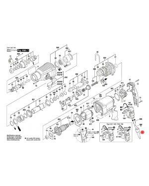 ปลอกโลหะ GBH2-26E 1600703034 Bosch