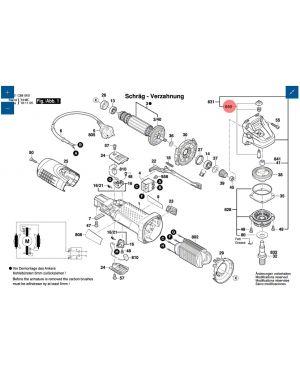 สวิทซ์ GWS7-100 1619P02873 Bosch