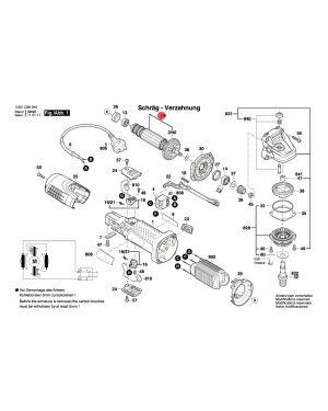 ทุ่น GWS7-100 1619P05210 Bosch