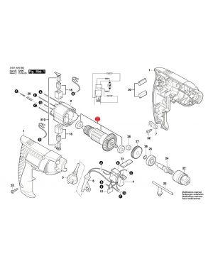 ทุ่น GBM600 1619PA5010 Bosch