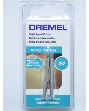 ดอกแกะสลักความเร็วสูง 4.8mm 2Pcs 192 Dremel
