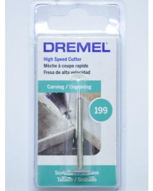 ดอกแกะสลักความเร็วสูง 9.5mm 199 Dremel