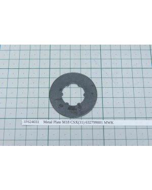 Metal Plate M18 CSX(31) 632799001 MWK