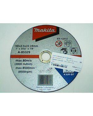 """ใบตัดเหล็ก 2.5mm 7"""" A-85329 Makita"""