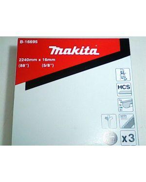 ใบเลื่อยสายพาน 16mm 14T 3Pcs LB1200 B-16695 Makita