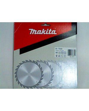 """ใบเลื่อยวงเดือน ตัดไม้ 8"""" 24T B-17099 Makita"""