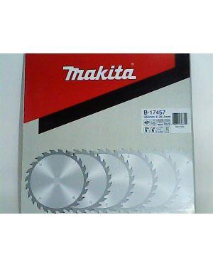 """ใบเลื่อยวงเดือน ตัดไม้ 14"""" 60T B-17457 Makita"""