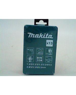 ชุดดอกสว่าน เงิน 13Pcs D-54047 Makita